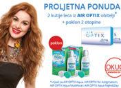 Proljetna ponuda uz AIR OPTIX obitelj kontaktnih leća