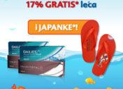 Ovog ljeta izroni svojih 17% GRATIS DAILIES leća i japanke!